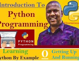 Python By Example Getting up and running
