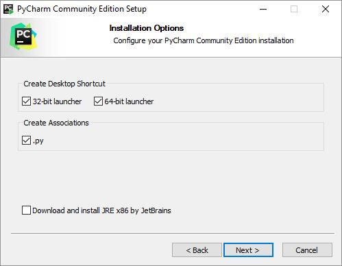 install pyCharm