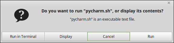 pycharm run