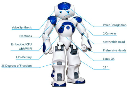 components of robot1 learnerscoach