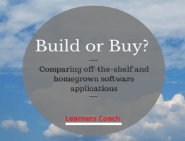 Build or Buy Software learnerscoach