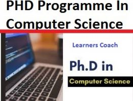 PHD in Computer Science