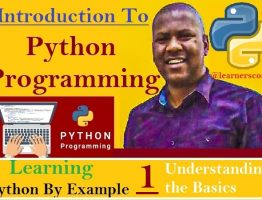 Python By Example Tutorial 1 The Basics