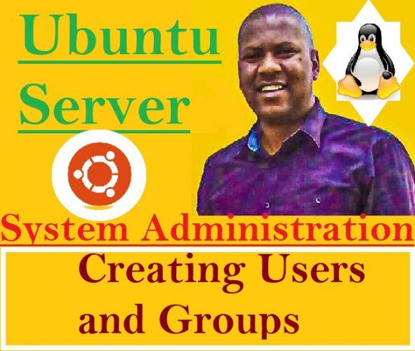 ubuntu Server Usermanagement creating Users