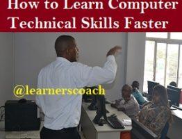 Learning Technical learnerscoach