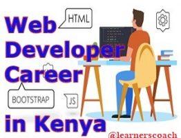 webdeveloper in kenya