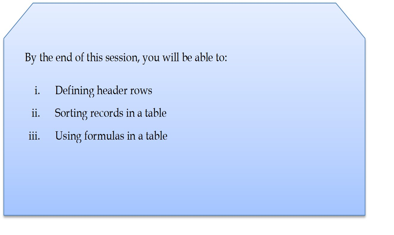 session3b learning outcomes