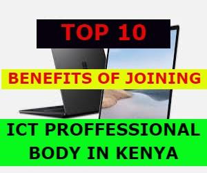 ICT BODY IN KENYA