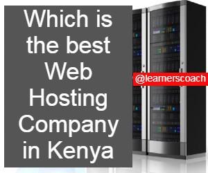 The Best web hosting company in kenya